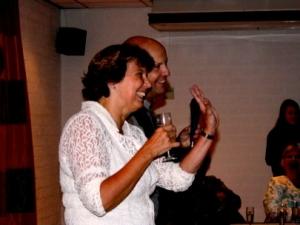 Peter en Lia 25 jaar getrouwd